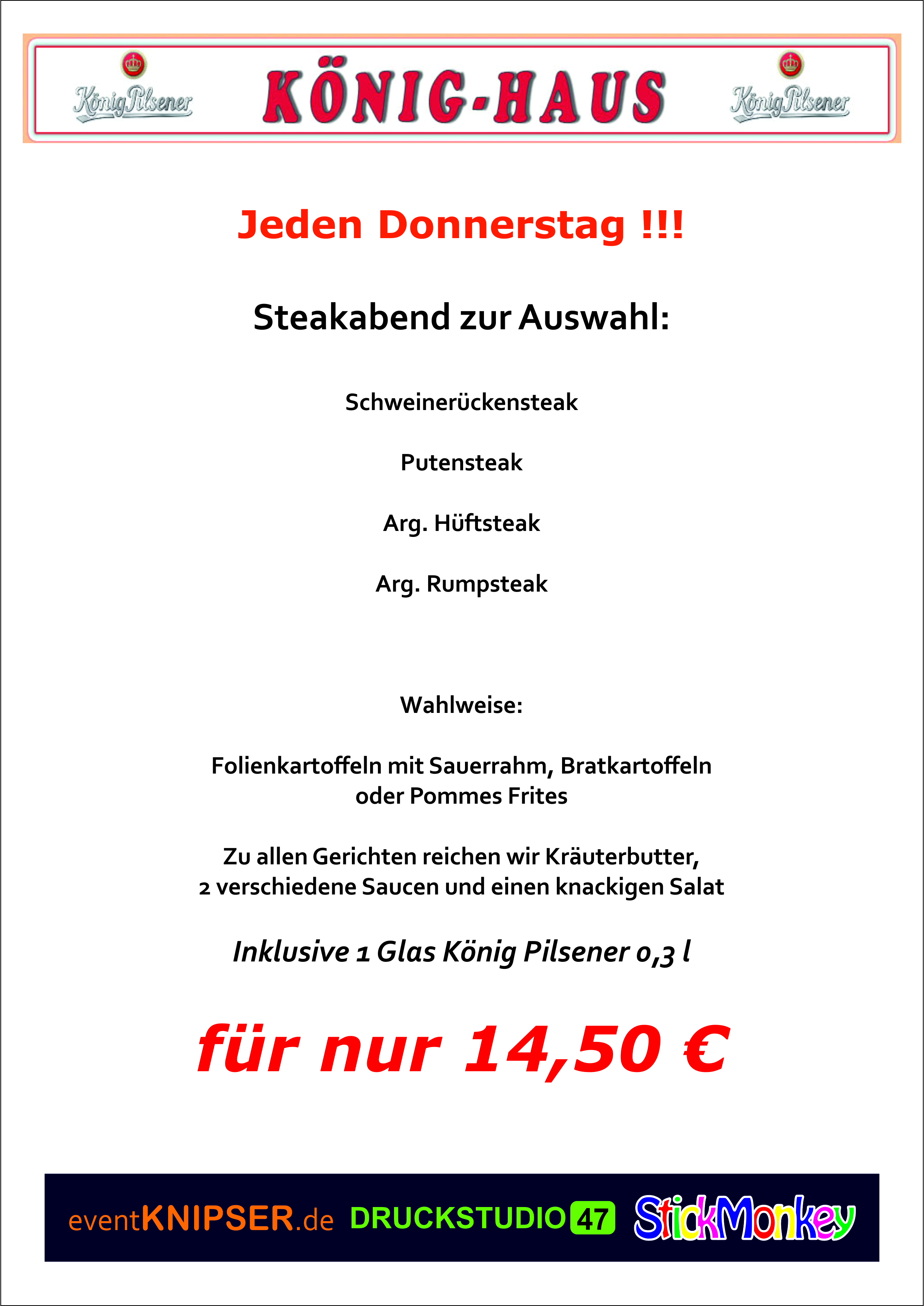 Getränke - König-Haus Duisburg - Wallasch Gastro GmbH